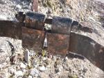 Schornsteinband-Verschraubung - Detailansicht