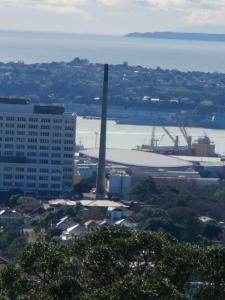 NZ_Auckland/Hospital - Blick von Mt Eden