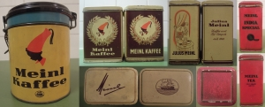 Kaffee- und Teedosen im schlot.at-Archiv