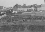 Ansicht von Norden, Verwaltung. Ca. 1910
