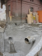 Stabilisierung mit Spritzbeton rund ums Portierhaus, Kanalbau