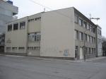 Städtische Berufsschule für Fleischer, vor Portierhaus