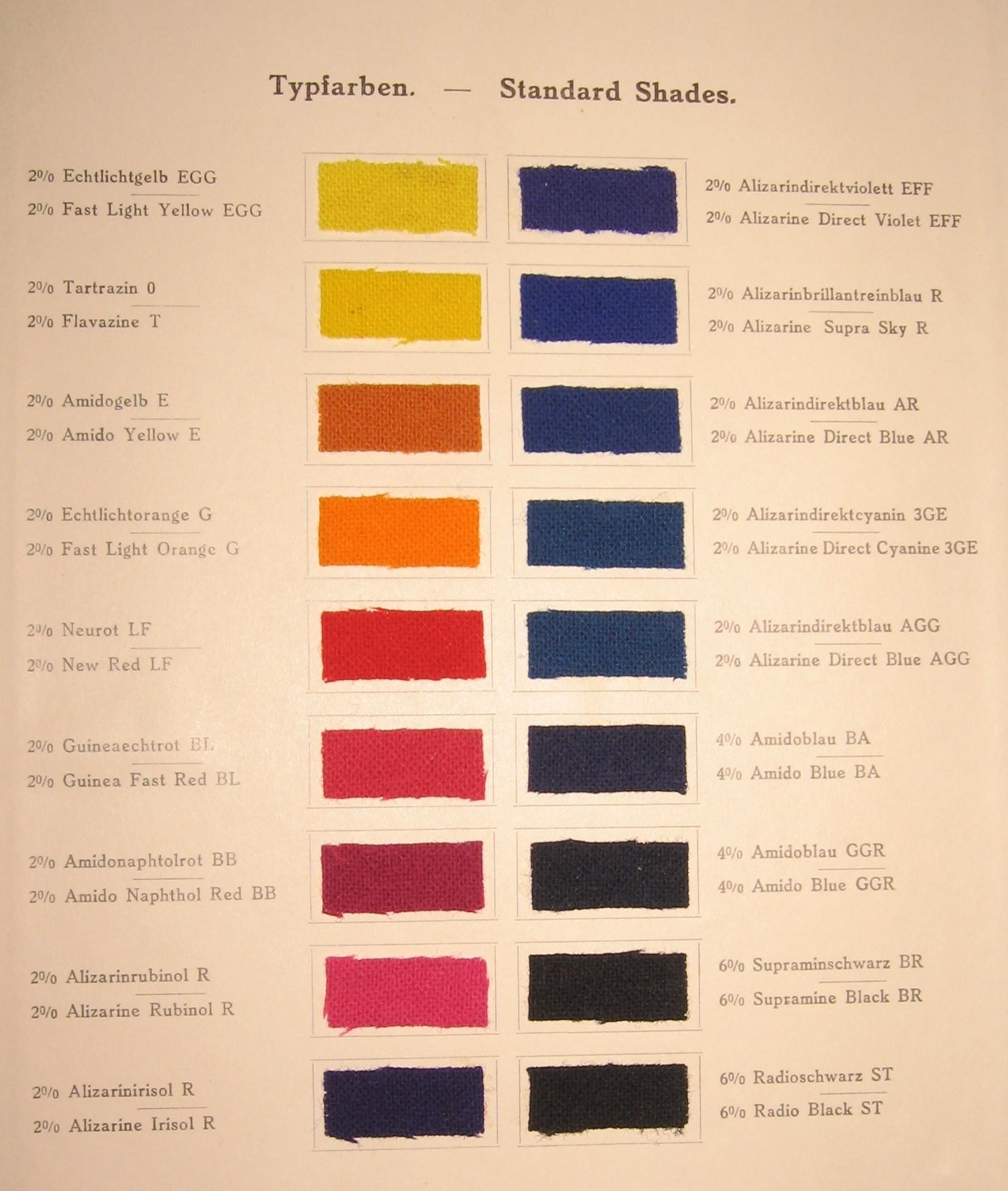 de frankfurt main ig farben textilfarben musterbuch. Black Bedroom Furniture Sets. Home Design Ideas