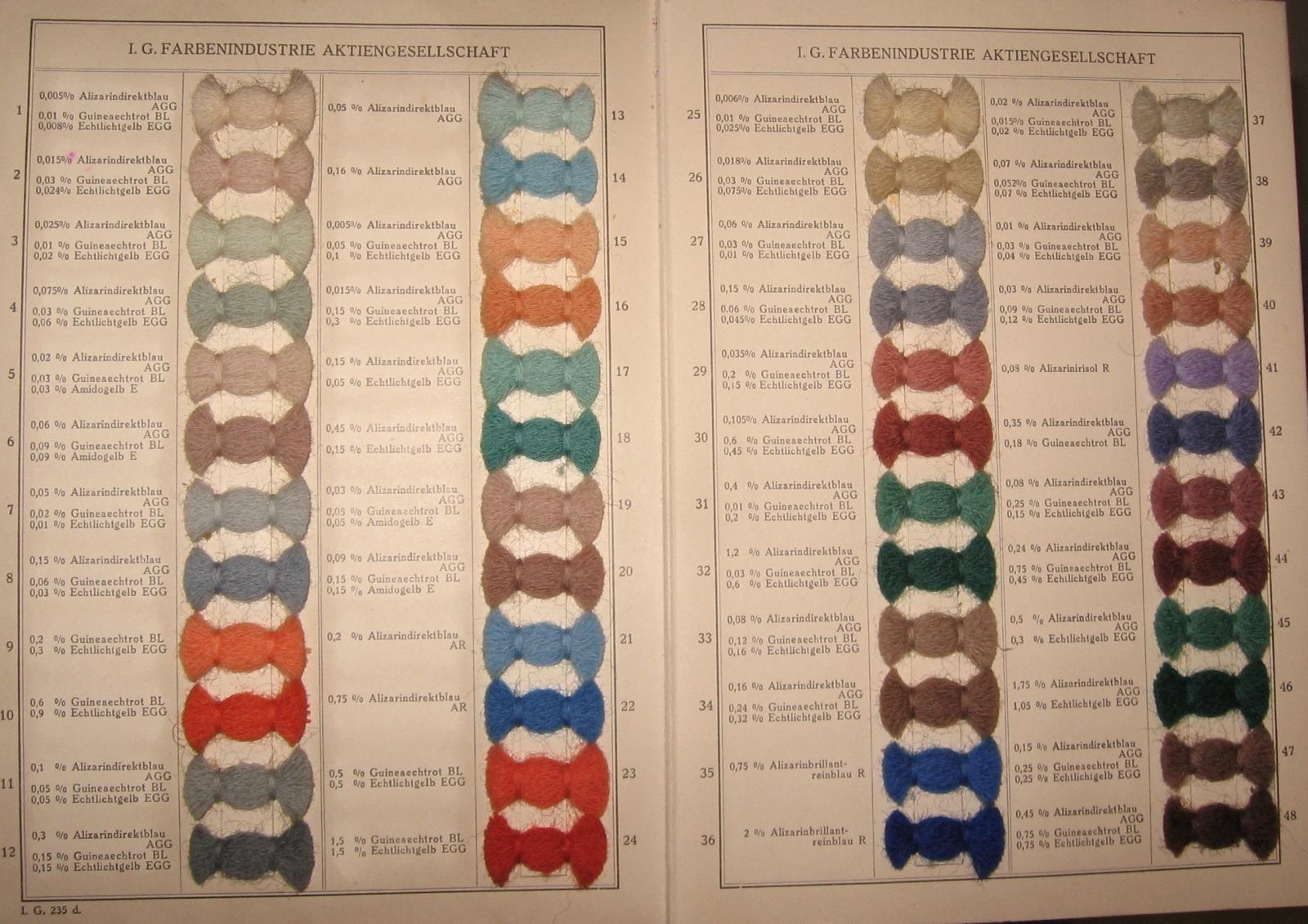 de frankfurt main ig farben textilfarben musterbuch um 1930 sterreich und. Black Bedroom Furniture Sets. Home Design Ideas