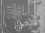 Detail Kessel, Typenschild Erste Brünner Maschinenfabrik