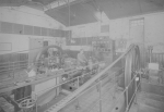 Kraftzentrale, Transmissionen, elektrische Zentrale