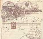 Briefkopf um 1900