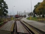 Werksbahneinfahrt Süden