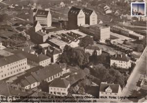 Luftbild, um 1965