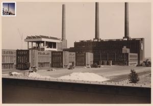 VW-Werk WOB, HKW, um 1965