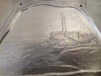 Torftransport in die Glashütte AT   SL   Bürmoos um 1895