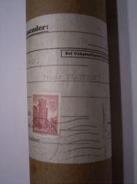 Transportrolle, Absender, Eigentum: schlot.at-Archiv