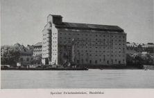 Speicher Zwischenbrücken, Aus: Das neue Wien, Städtewerk, Band 4, 1928, Seite 170
