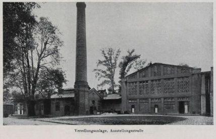Veredelungsanlage, Ausstellungsstrasse, Aus: Das neue Wien, Städtewerk, Band 4, 1928, Seite 173