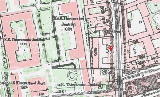 Quelle: wien.gv.at - Kulturgut - Stadtplan - historischer Stadtpläne - Generalstadtplan 1904, 16.06.2019, 14:06
