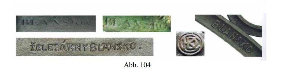 Stoeger, Anton, Gusseiserne Kreuze, Kirchberg am Walde, 2013, Abb. 104